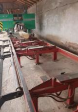 Mebor Woodworking Machinery - Used Mebor 2009 Log Band Saw Horizontal For Sale Romania