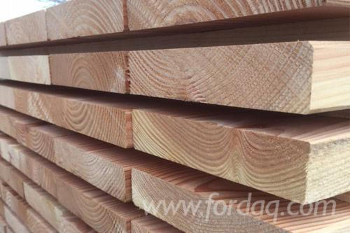 Douglas fir construction timber, KVH