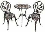 Use cast aluminum patio furniture for outdoor
