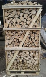 Świerk - Whitewood Drewno Kominkowe/Kłody Łupane Ukraina