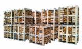 Energie- Und Feuerholz FSC - Brennholz Erle box pallets 1RM FSC-Zertifikat