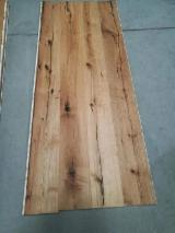 3-layer engineered oak flooring, EF grade, poplar/ pine core