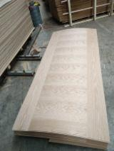 Red Oak 3mm HDF Skin Door