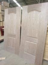 HDF Door skins, Wood veneer/ Melamine/ White primer