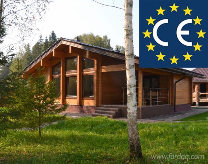 Case Di Tronchi Americane : Casa di tronchi squadrati pino siberiano abete siberiano resinosi