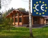 Vend Maison Bois : Madrier Empilés Pin - Bois Rouge, Epicéa - Bois Blancs Résineux Européens 99 m2 (sqm)