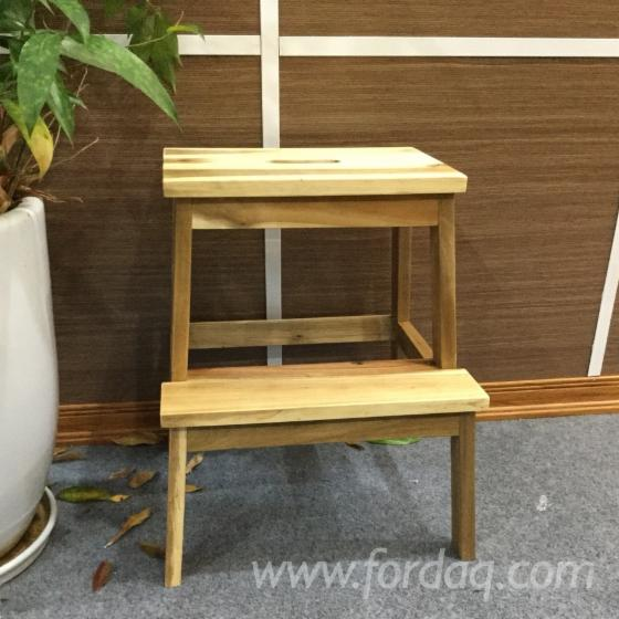 FSC Acacia Step-Stool (DIY Assembly)