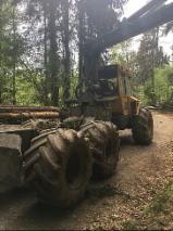 Machinery, Hardware And Chemicals - Used HSM 805HD 2010, 1100h Articulated Skidder Germany