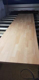 Massivholzplatten Buche - 1 Schicht Massivholzplatten, Buche