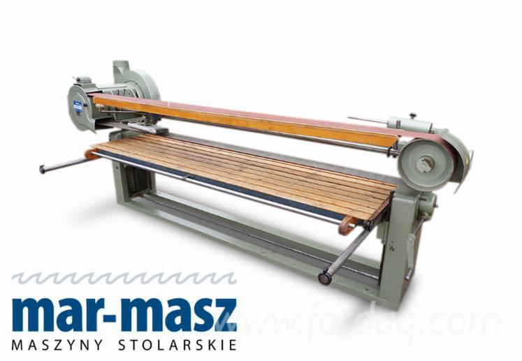 SCHMID-long-belt-sander--machine-for-grinding-furniture-boards-and-carpentry