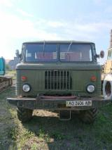 Maszyny Leśne - Samochód Ciężarowy GAZ 66 Używane 1982 Ukraina