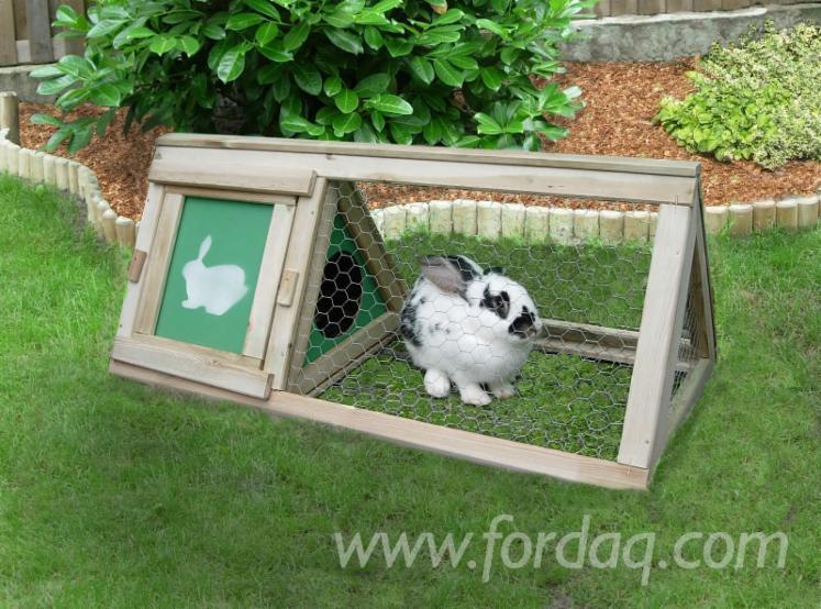 Rabbit-Wooden-House