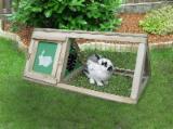 Mobili - Gabbia per conigli in legno da esterno – Conigliera