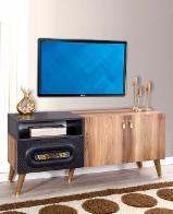Venta Al Por Mayor De Muebles De TV Y Centros De Entretenimiento - Venta Soportes De TV Diseño Madera Dura Europea Haya, Roble Turquía
