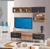 Oak Entertainment Centers - TV Wall Units