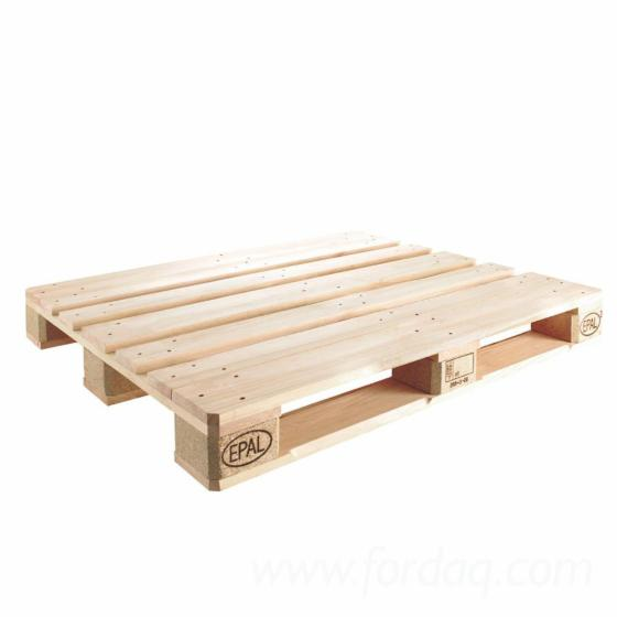 Factory Direct Wooden Epal  Euro Pallet Heavy Wooden Pallet Crate