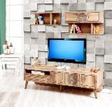 Venta Al Por Mayor De Muebles De TV Y Centros De Entretenimiento - Venta Multifunción Diseño Madera Dura Europea Haya, Roble Turquía