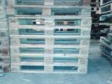 Palettes - Emballage - Achète Euro Palette EPAL Recyclée - Occasion En Bon État Salamanca Espagne