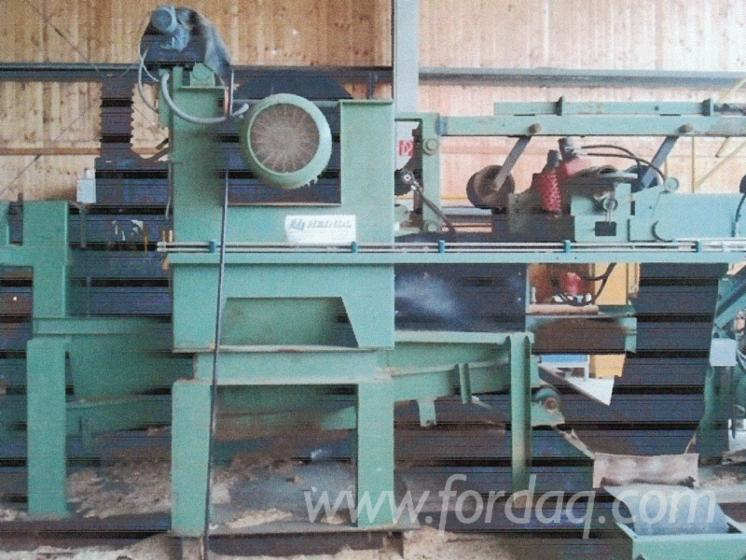 Chipper Canter Saw Line Lindner EWD