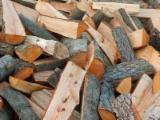 Firewood, Pellets And Residues Fresh - Common Black Alder, Birch, Oak Firewood/Woodlogs Cleaved