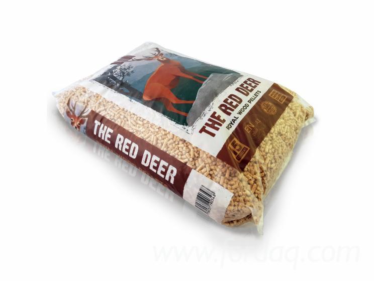 """""""The Red Deer"""" Granulés De Bois"""