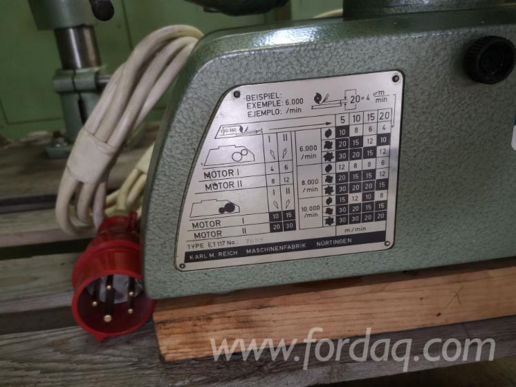 Conveyors, Storage And Material Handling - Other HOLZ-HER ET 117 Б / У Австрія Для Продажу