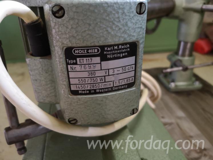 Conveyors, Storage And Material Handling - Other HOLZ-HER ET 117 Б / У Австрія