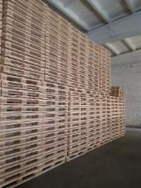 Find best timber supplies on Fordaq - Industrial Wood - NEW Epal Euro Pallets Pine Spruce Woodchip Blocks