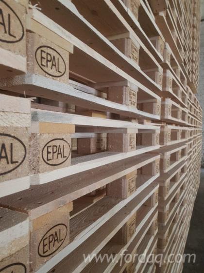 NEW Epal Euro Pallets Pine Spruce Woodchip Blocks
