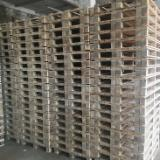 Standard and non-standard wooden pallets