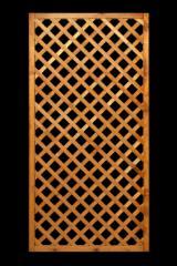 Find best timber supplies on Fordaq - Euro-Astar P.P.H.U. Krzysztof Korczyk - Trellis, glazed in honey colour