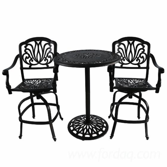 customizable-design-cast-aluminum-bar-tables-and-chairs-bistro