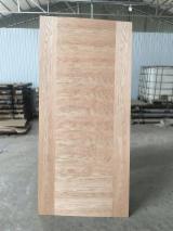 3mm 4mm Red Oak HDF Door Skin Panels