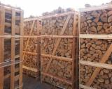 Beech and Oak Firewood on pallets Boxes