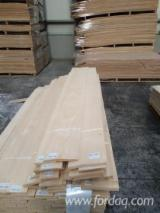 Flat Cut White Ash Veneer, 0.55 mm