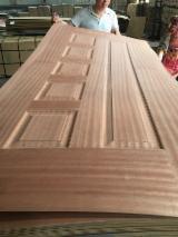 Find best timber supplies on Fordaq - LINYI GAOTONG IMPORT & EXPORT CO., LTD - 3mm Teak HDF Skin Door.