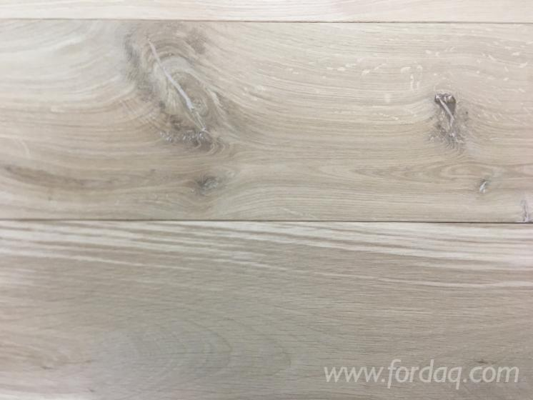 Solid oak flooring - T&G - 13 and 18 mm thickness - discounted price!