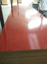 High glossy Melamine laminated MDF board 18mm.
