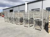 null - Recycled - Used In Good State Industrial Crates Romania
