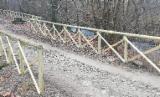 Trova le migliori forniture di legname su Fordaq - Losa Legnami s.r.l. - Recinzione croce di S.Andrea mezzo palo