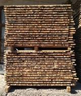 硬木:毛边材 - 毛刺 - 圆柱 - 半边板, 榉木