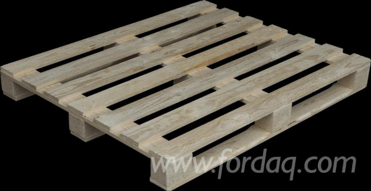 New-Used-Spruce-Pallets