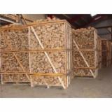 Energie- Und Feuerholz Brennholz Gespalten - Buche, Birke, Eiche Brennholz Gespalten