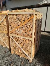 Energie- Und Feuerholz Brennholz Gespalten - Buche, Hain- Und Weissbuche, Eiche Brennholz Gespalten 10-14 cm