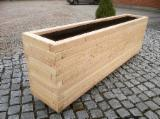 Furniture and Garden Products - Douglas Fir & Larch Plant Boxes, Garden Bed