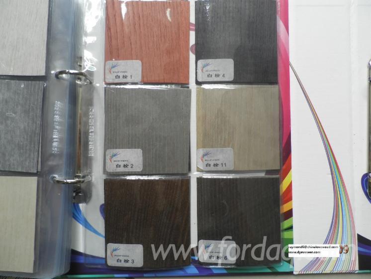Ash Hard Maple Red Oak Quarter Cut Dyed Veneer Ab