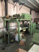 Woodworking Machinery Spain - Barberan RCH-400/3-E Fleece backing machine and 3 layers thick edgebanding
