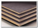 18mm anti-slip film faced plywood for construction with eucalyptus core recycle usage times
