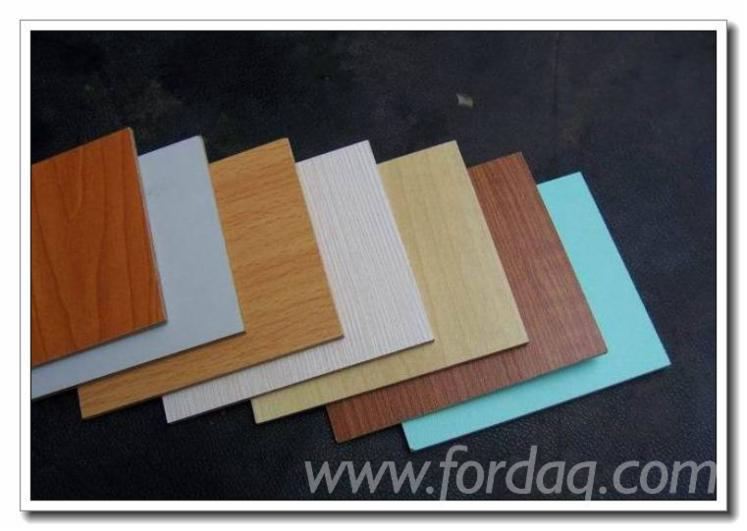 Raw-particle-board