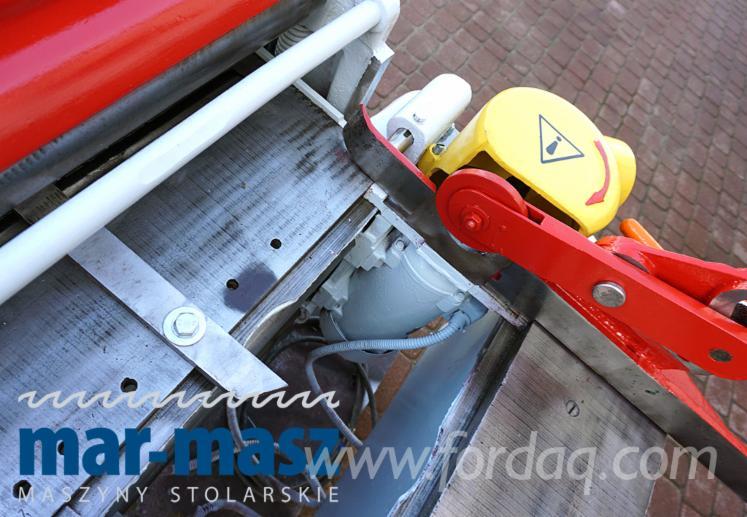 Strugarka trzystronna KOFAMA Koronowo HTE-5, 3 stronne struganie, grubościówka do drewna